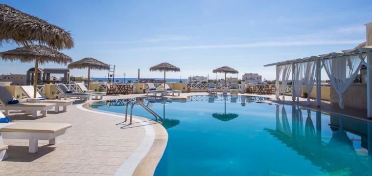 Sunweb vroegboekkorting Santorini Griekenland | voorjaar 2016 aanbieding
