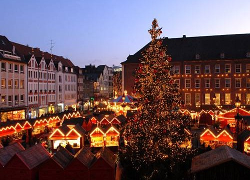 KRAS kerstmarkt Düsseldorf aanbieding – december 2015