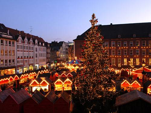 Dusseldorf kerstmarkt