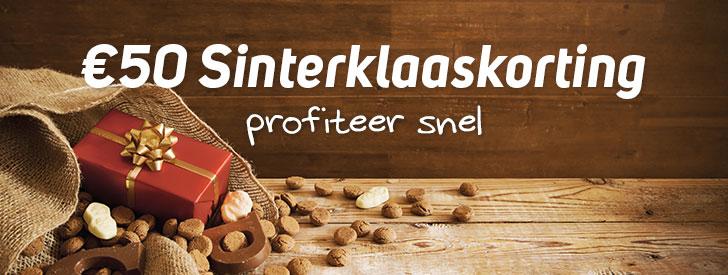 Corendon Sinterklaaskorting – t/m 6 december €50,- korting