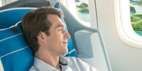 Korting KLM business class 2016