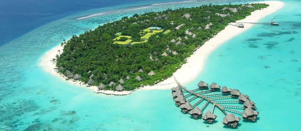 Eiland op de Malediven