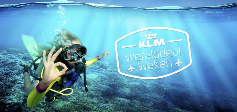 KLM Werelddeal Weken kortingscode – Extra korting Tix.nl