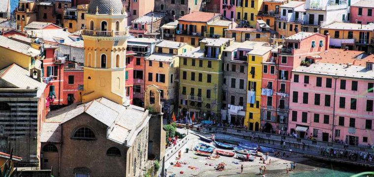 Wow! 4* vakantie Cinque Terre | 8 dagen april 2018 €475,- per persoon