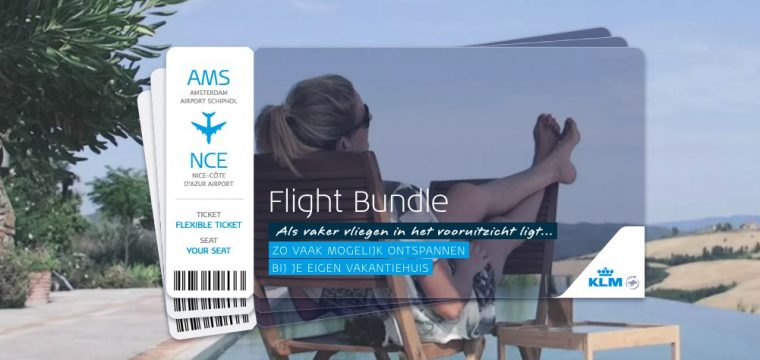KLM Flight Bundle | Vliegen tegen Exclusief Lage Prijzen