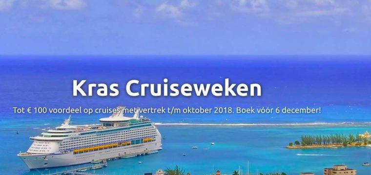 Kras Cruiseweken | Tot wel €100,- Voordeel